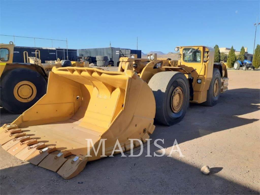 Caterpillar R1700G, underground mining loader, Construction