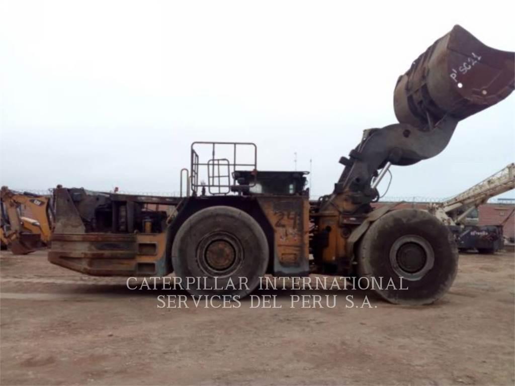 Caterpillar R2900G, underground mining loader, Construction