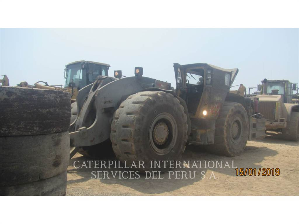Caterpillar R3000H, underground mining loader, Construction