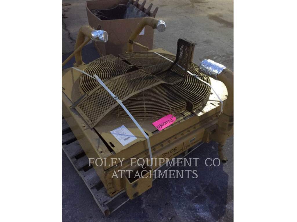 Caterpillar RADIATOR, Systems / Components, Construction