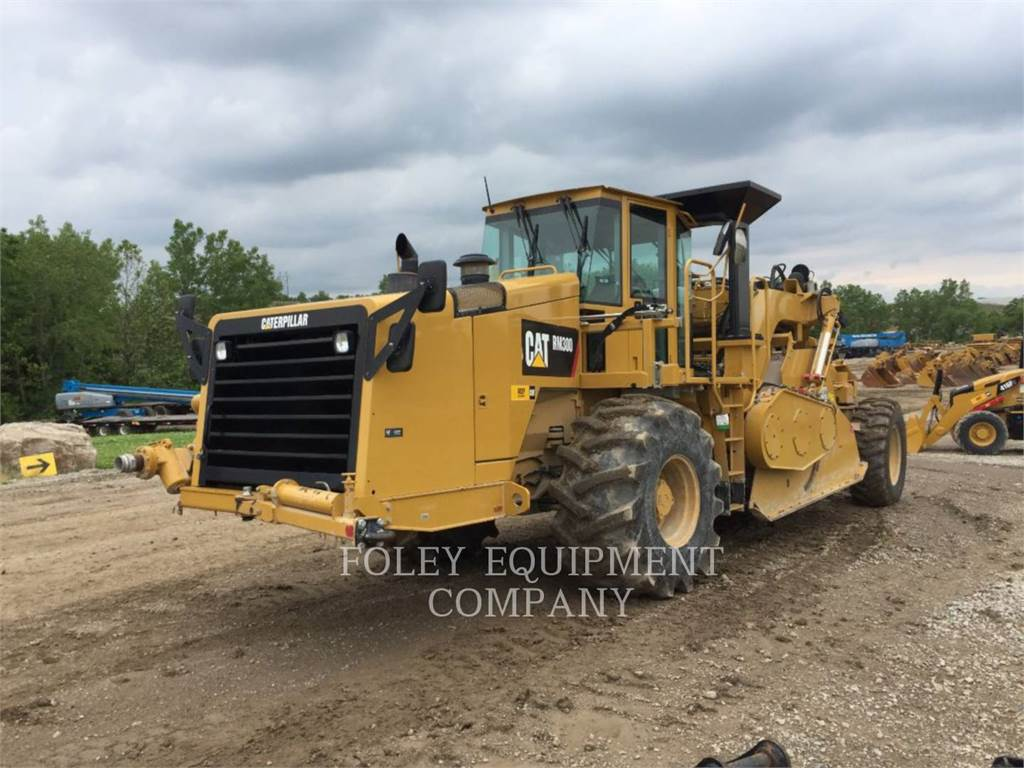 Caterpillar RM-300, stabilizers / reclaimers, Construction
