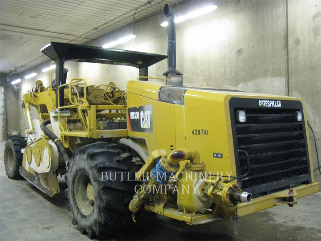Caterpillar RM-300, stabilizers / reclaimers, Construction