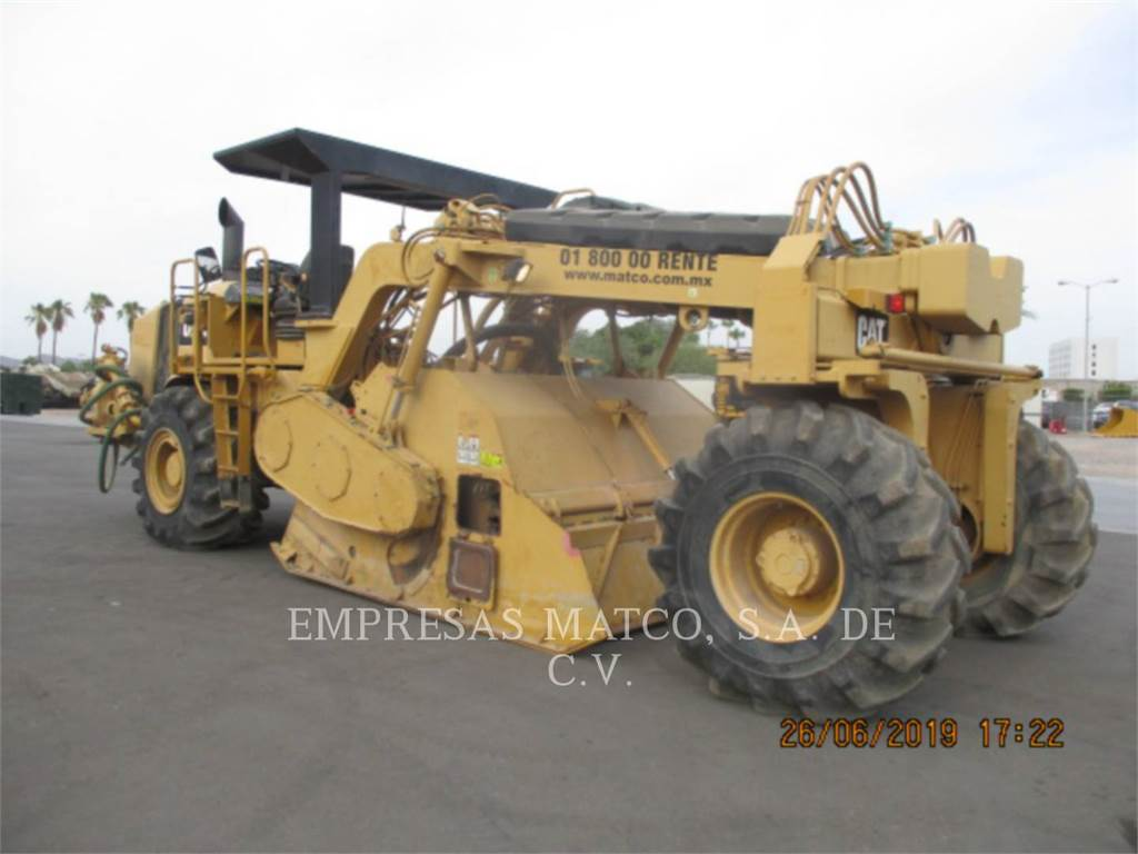 Caterpillar RM-500, stabilizers / reclaimers, Construction