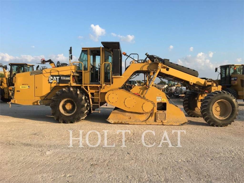 Caterpillar RM300, stabilisators / freesmachines, Bouw