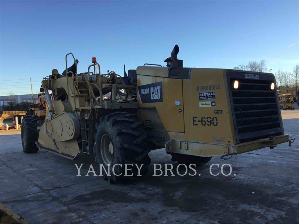 Caterpillar RM300, stabilizers / reclaimers, Construction