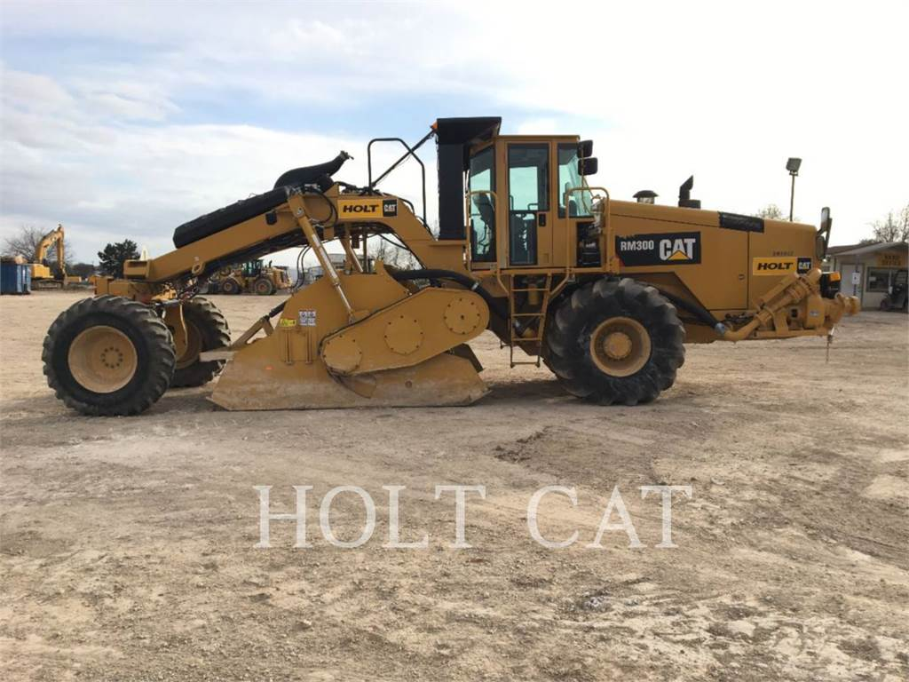 Caterpillar RM300, estabilizadores / recuperadores de caminos, Construcción