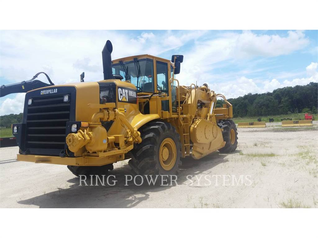 Caterpillar RM500, stabilizers / reclaimers, Construction