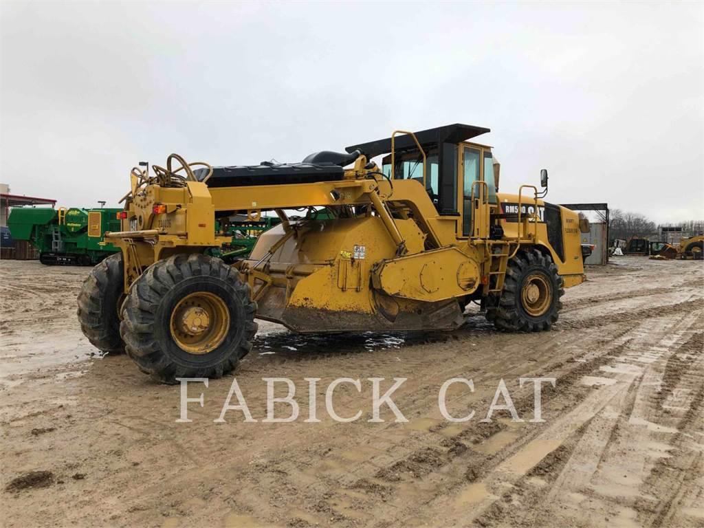 Caterpillar RM500, estabilizadores / recuperadores de caminos, Construcción