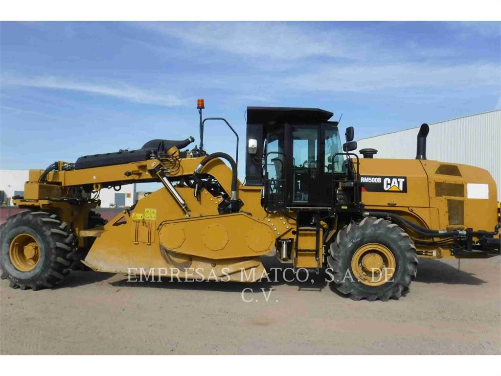 Caterpillar RM500B, stabilizers / reclaimers, Construction