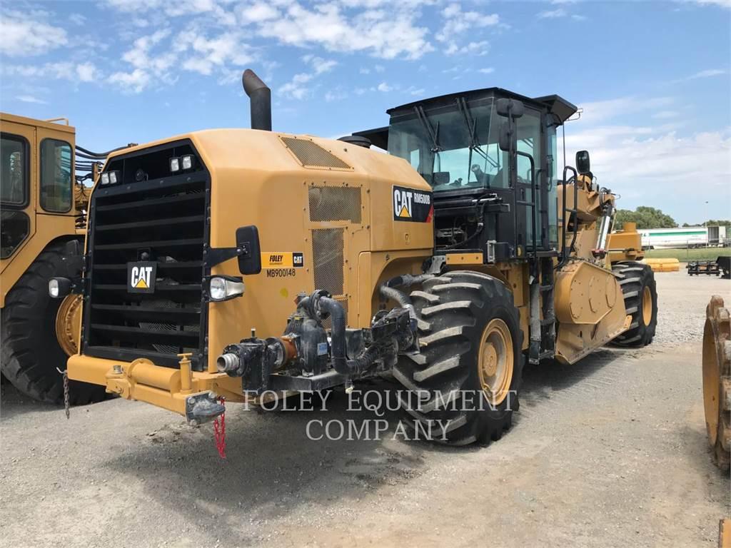 Caterpillar RM500B, Pavatoare asfalt, Constructii