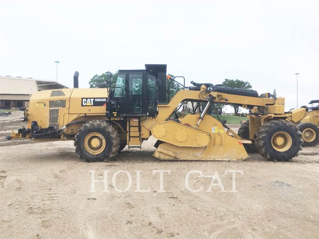 Caterpillar RM500B, stabilisators / freesmachines, Bouw