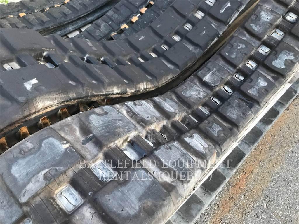 Caterpillar RUBBER TRACKS FOR CTL 259D, Carregadoras de direcção deslizante, Equipamentos Construção
