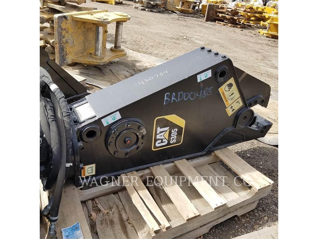 Caterpillar S305, ul – forfecare, Constructii
