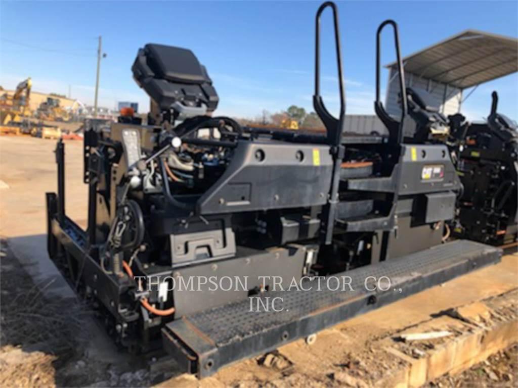 Caterpillar SE60V, asphalt screed, Construction