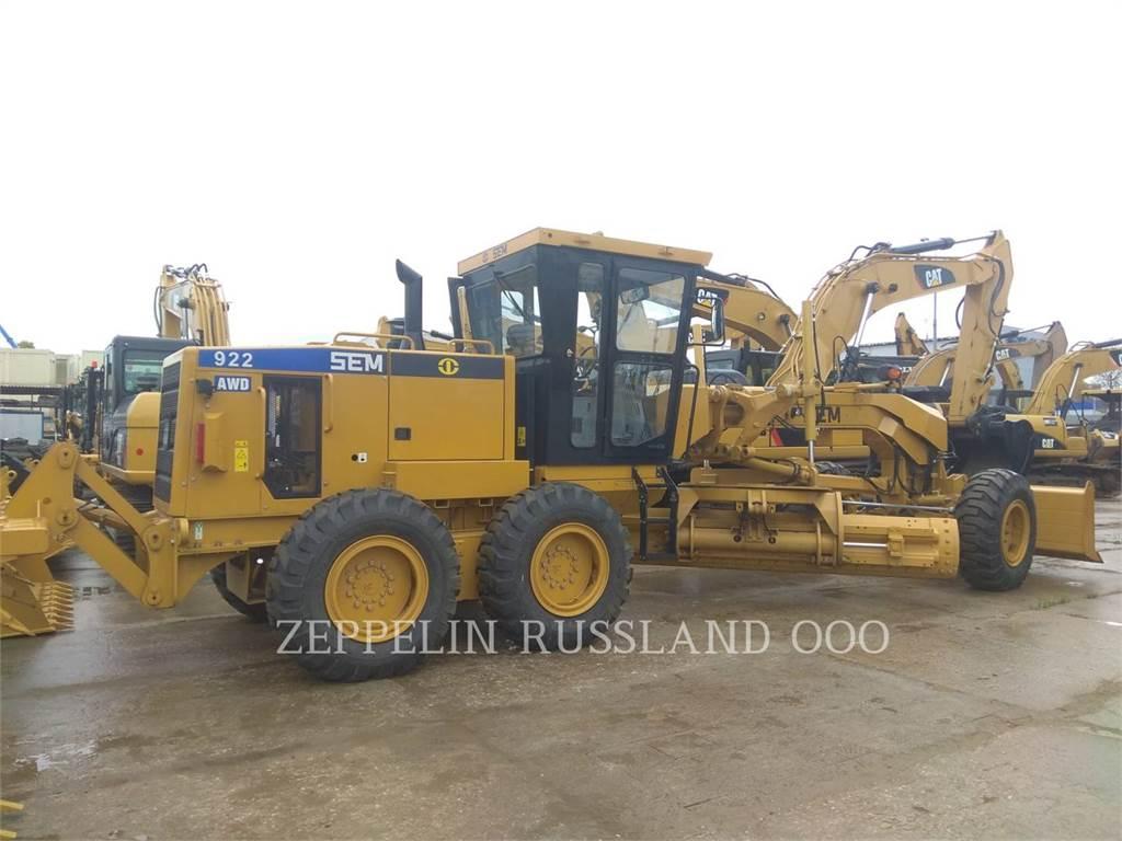 Caterpillar SEM 922 AWD, autogreder minier, Constructii