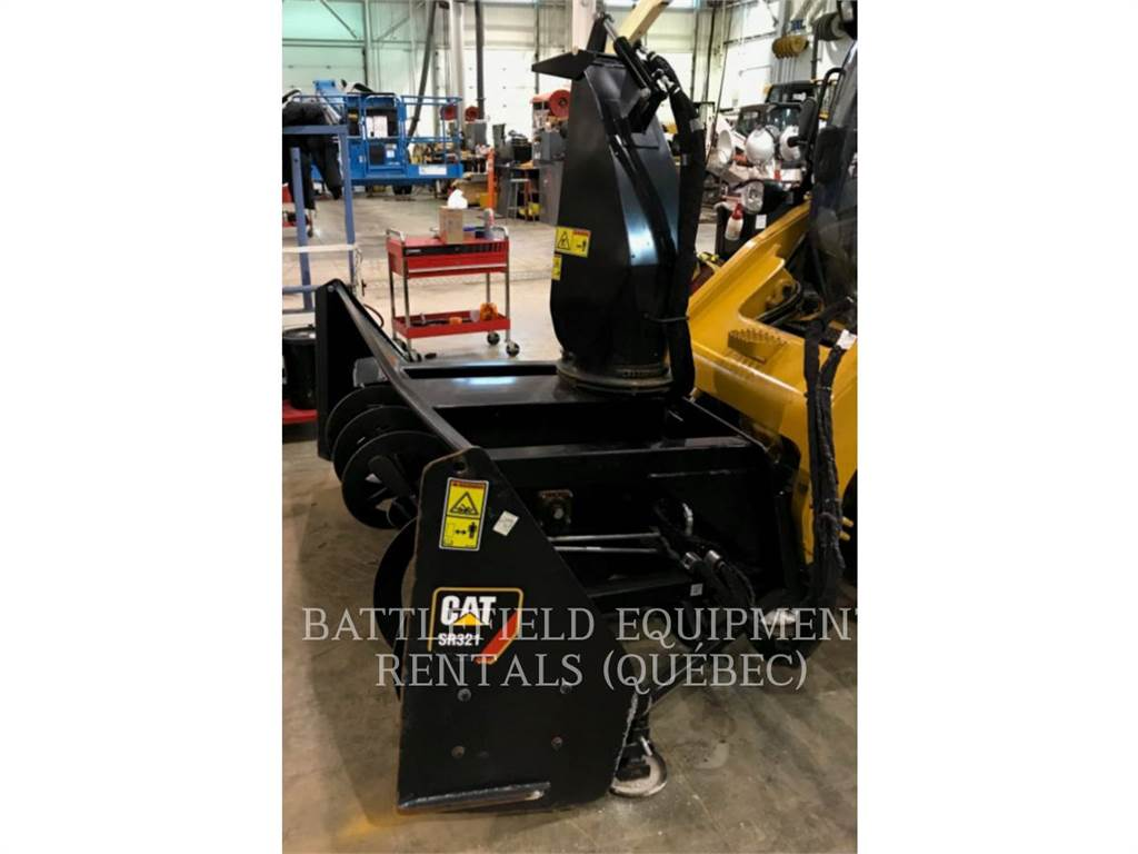 Caterpillar SR321, snow removal, Agriculture