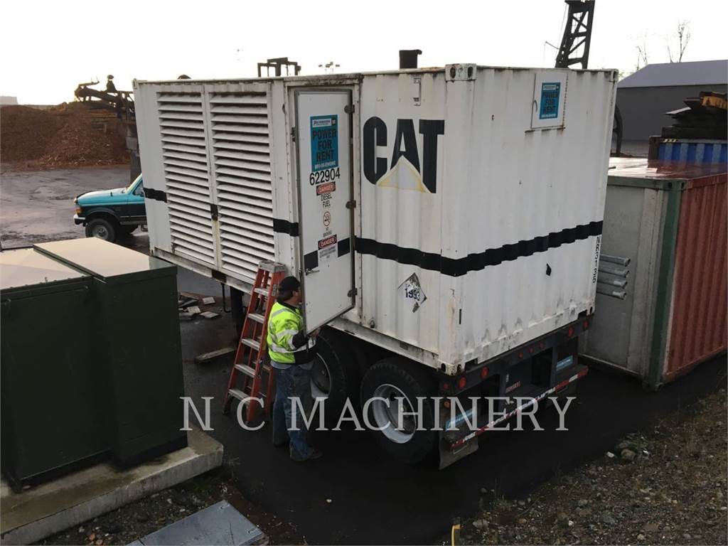 Caterpillar SR4, mobile generator sets, Construction