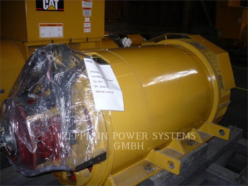 Caterpillar SR4 B-GD, Stationary Generator Sets, Construction