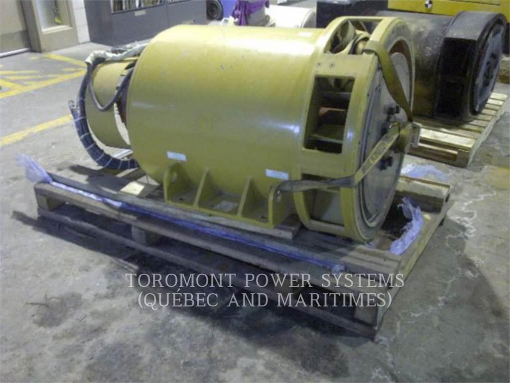 Caterpillar SR4B_ 750KW_ 600V, Systems / Components, Construction