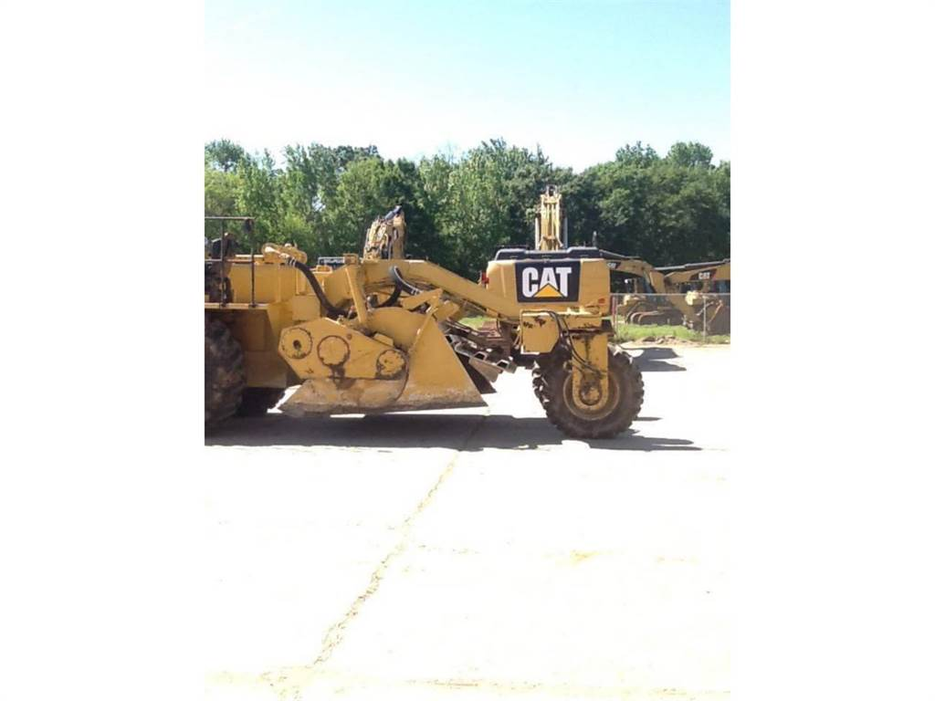Caterpillar SS-250, stabilizers / reclaimers, Construction
