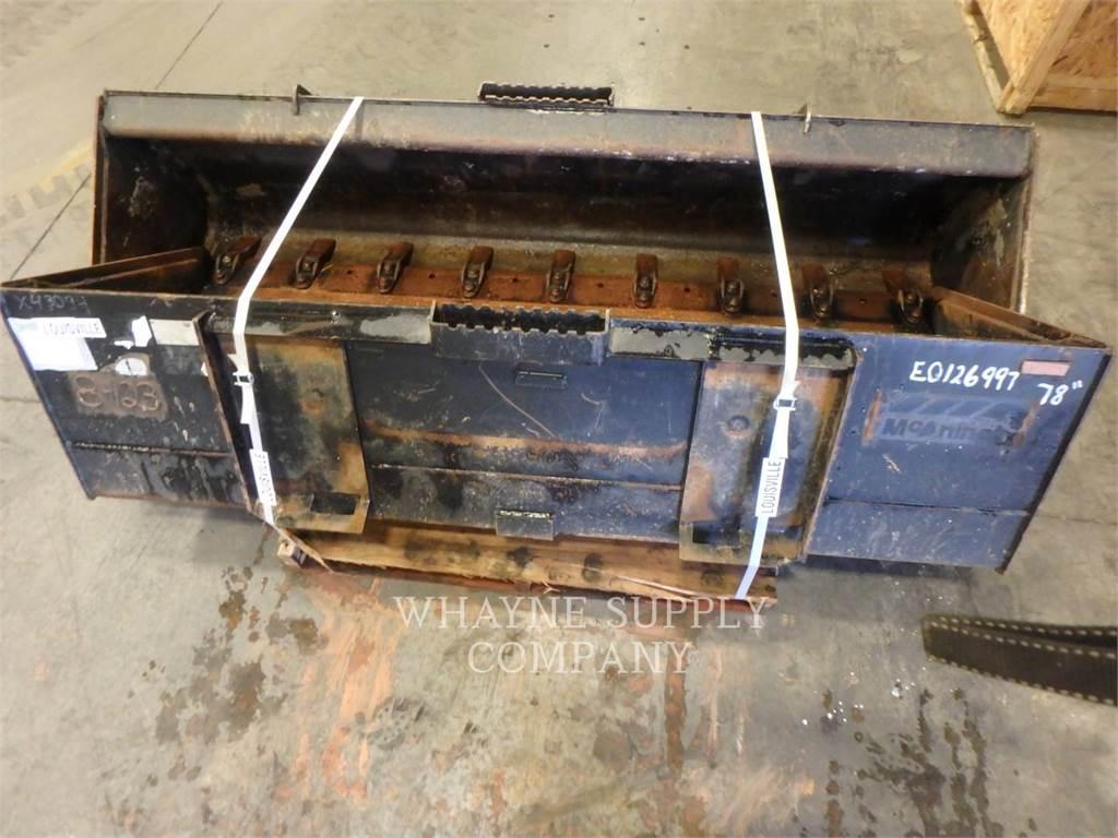 Caterpillar SSL 78 BUCKET, godet, Équipement De Construction