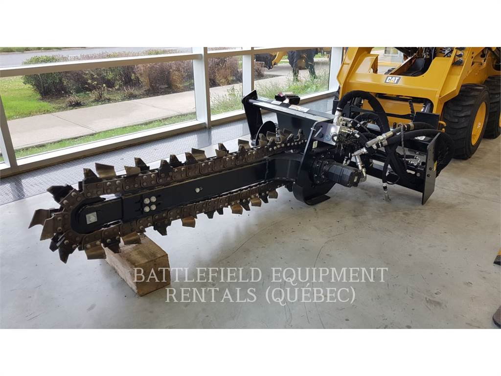 Caterpillar T15B, Trenchers, Construction