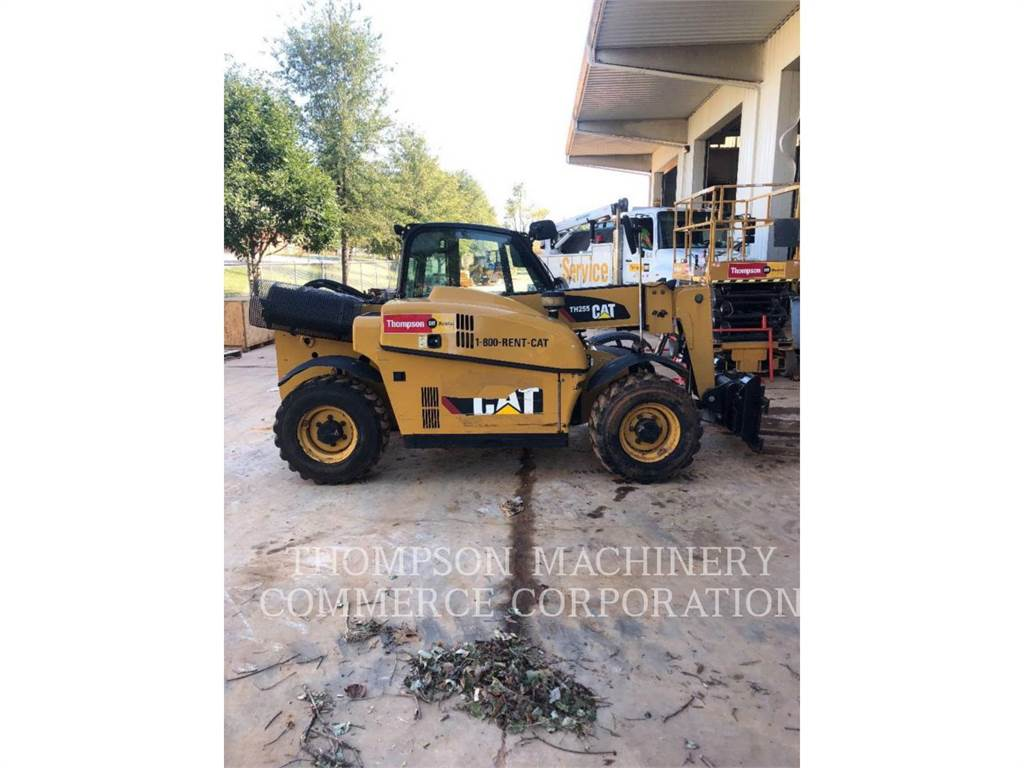 Caterpillar TH255, telehandler, Construction