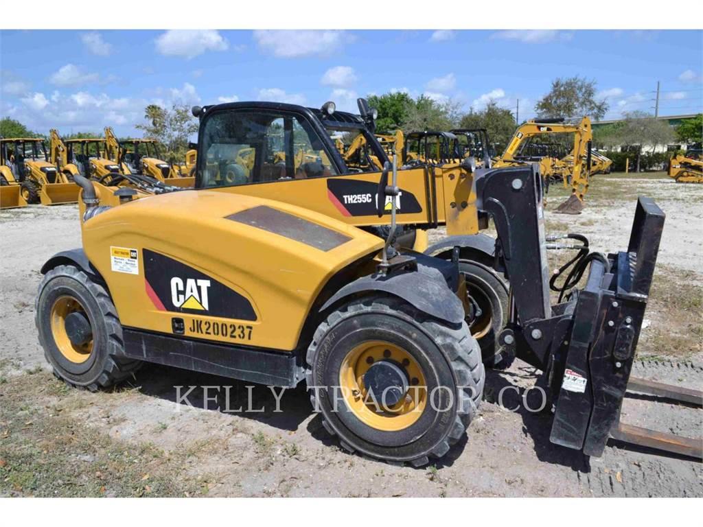 Caterpillar TH255C, chargeur à bras télescopique, Équipement De Construction