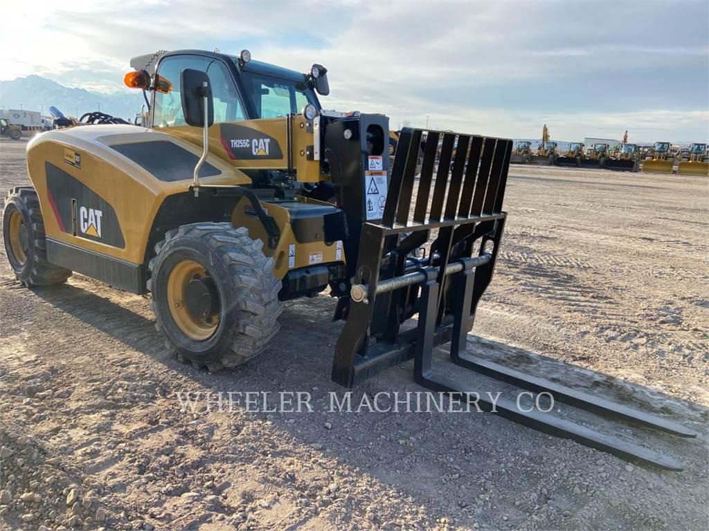 Caterpillar TH255C CB, telehandler, Construction