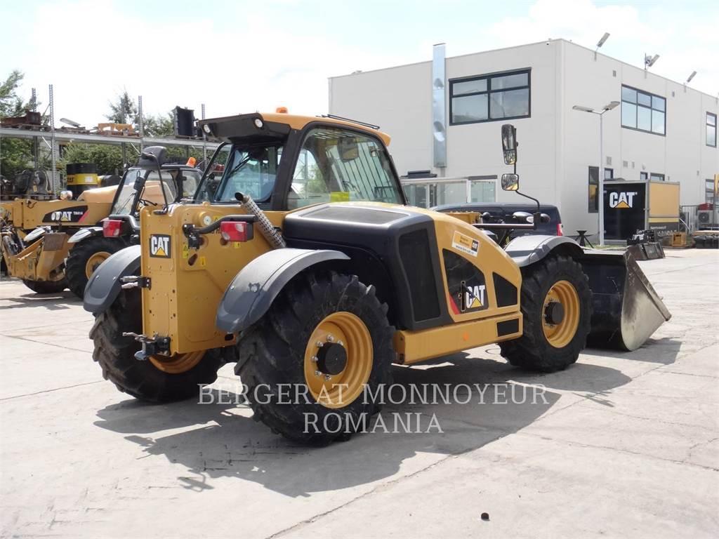 Caterpillar TH357D, chargeur à bras télescopique, Équipement De Construction