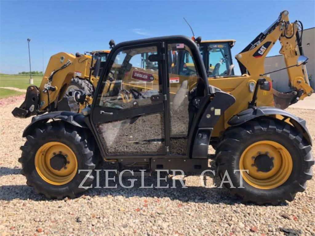 Caterpillar TH406, chargeur à bras télescopique, Équipement De Construction