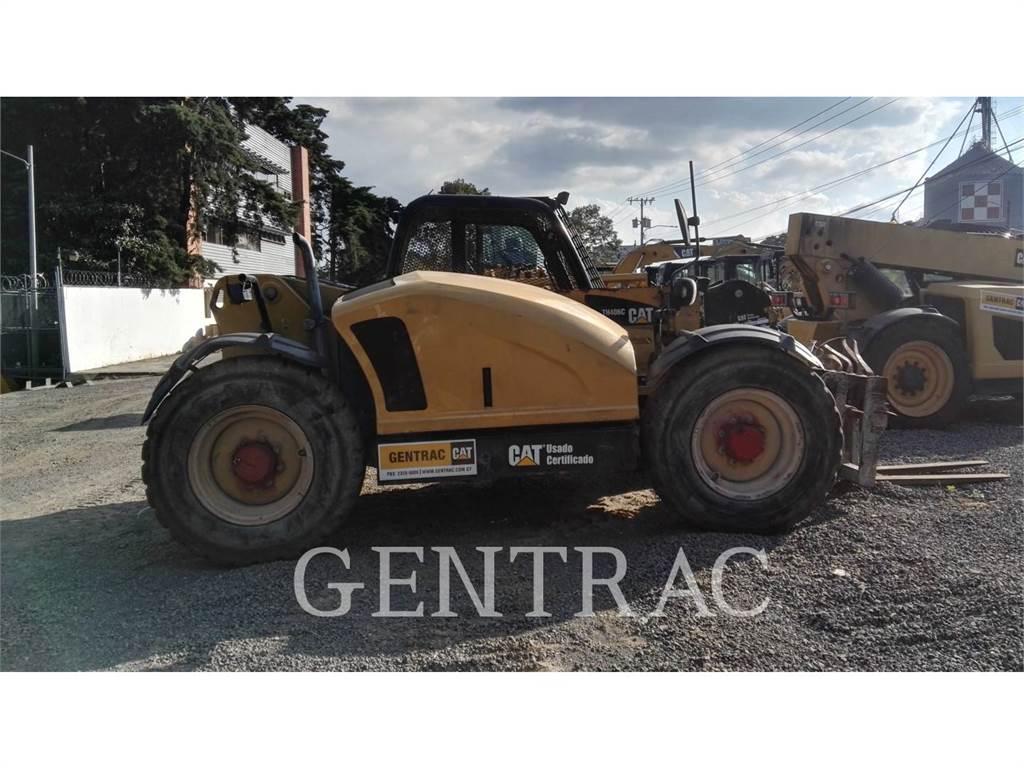 Caterpillar TH406C、テレハンドラ、建設