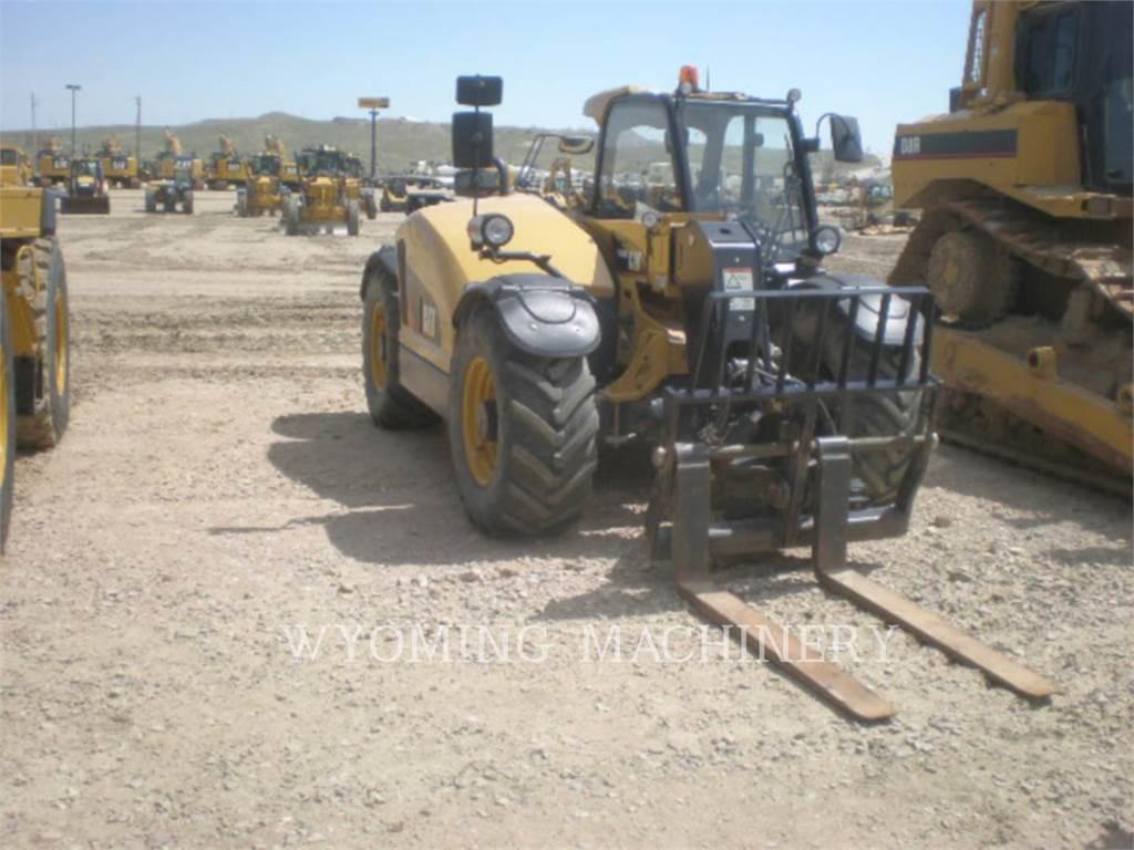 Caterpillar TH406C, manipulador telescópico, Equipamentos Construção