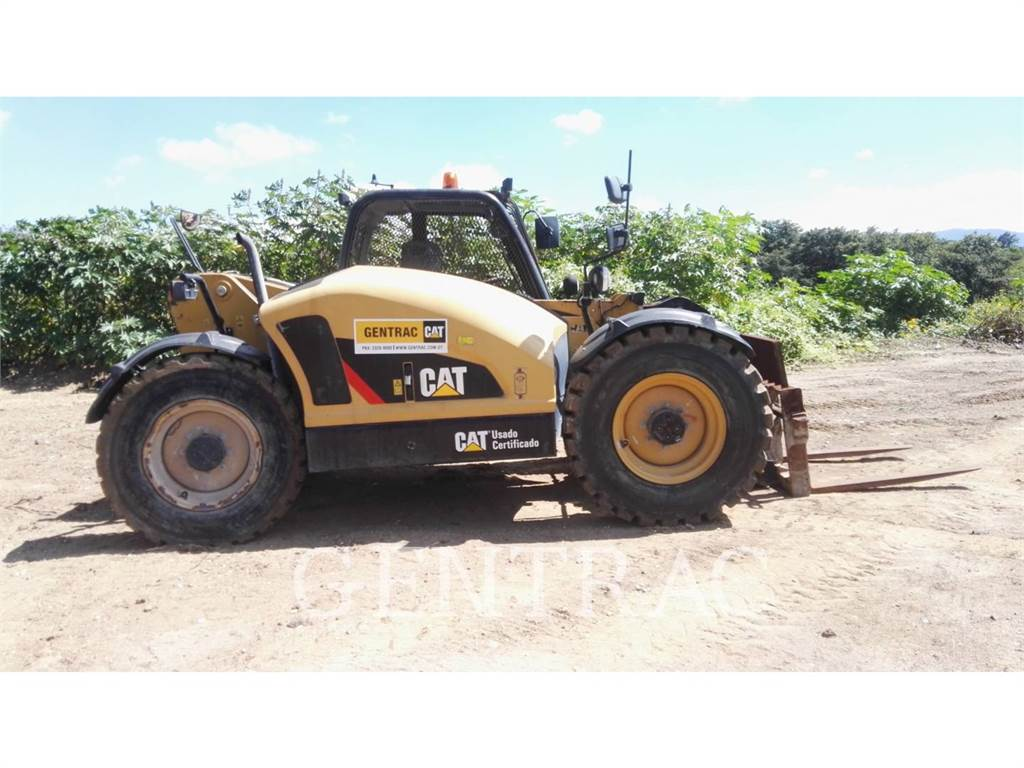 Caterpillar TH406C, verreiker, Bouw