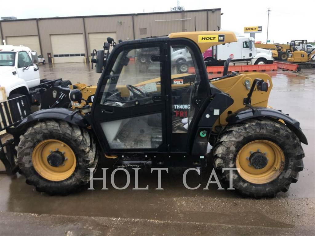 Caterpillar TH406C, telehandler, Construction