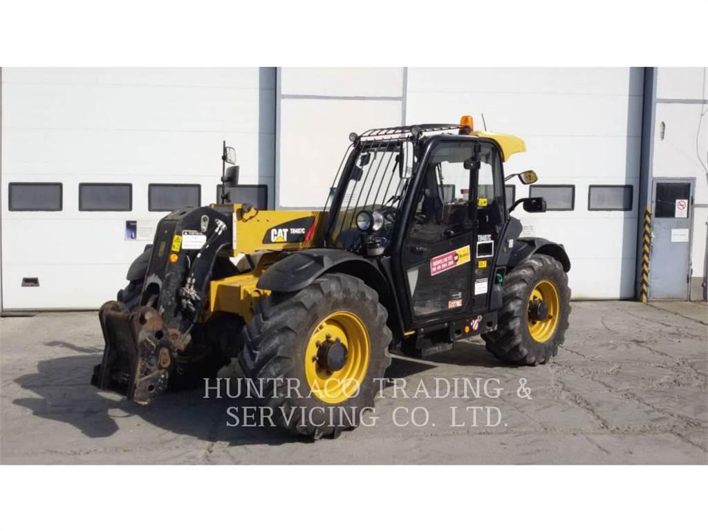 Caterpillar TH407C, telehandler, Construction