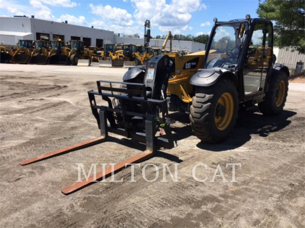 Caterpillar TH407C, stivuitor telescopic, Constructii