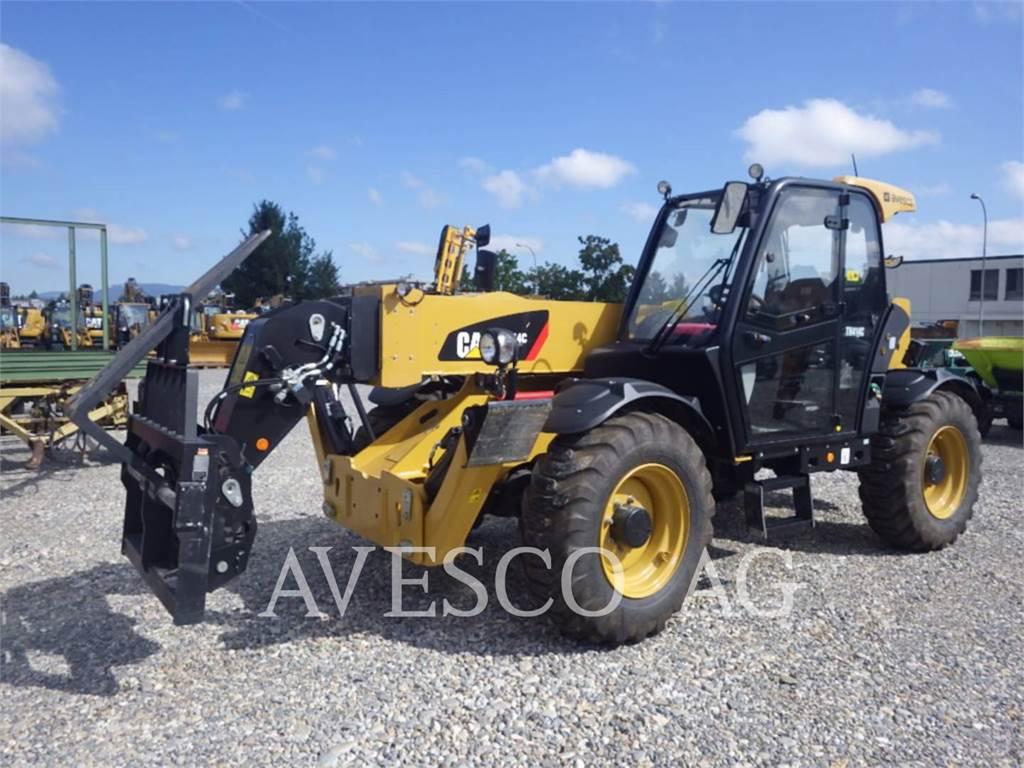Caterpillar TH414C, chargeur à bras télescopique, Équipement De Construction