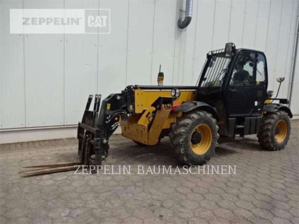 Caterpillar TH414C, manipulador telescópico, Equipamentos Construção