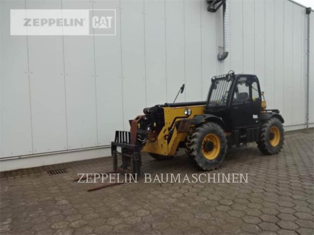 Caterpillar TH417CGC, manipuladores telescópicos, Construcción