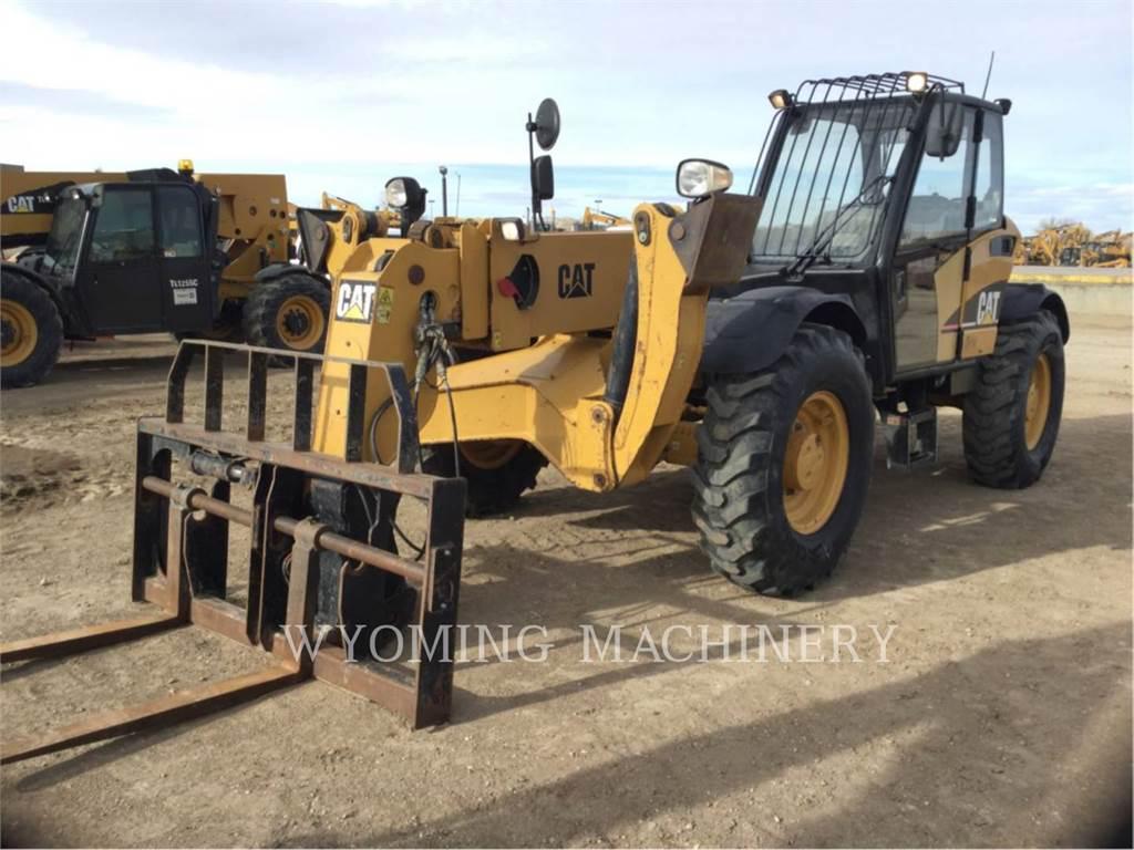 Caterpillar TH460B、テレハンドラ、建設