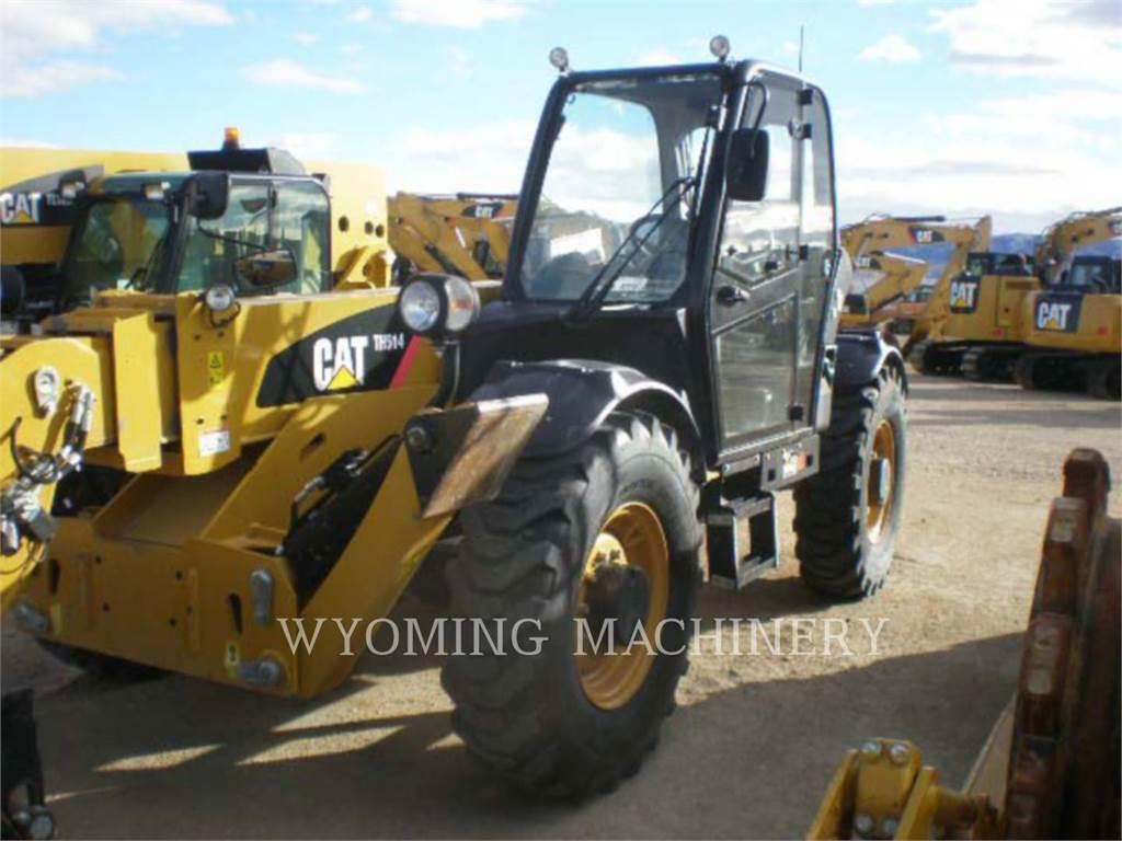 Caterpillar TH514、テレハンドラ、建設
