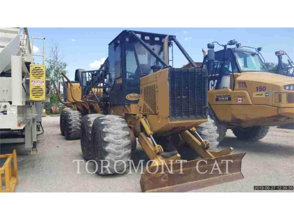 Caterpillar TK458, leśnictwo - skidery, Maszyny leśne
