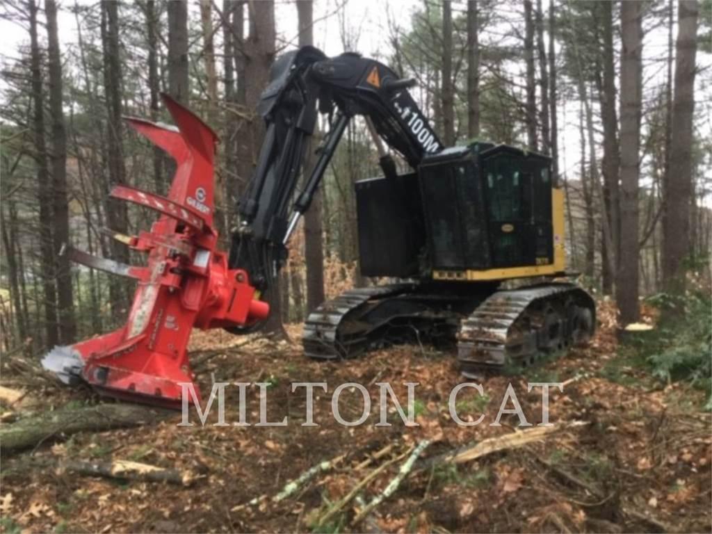 Caterpillar TK711B, Harwestery gąsienicowe, Maszyny leśne