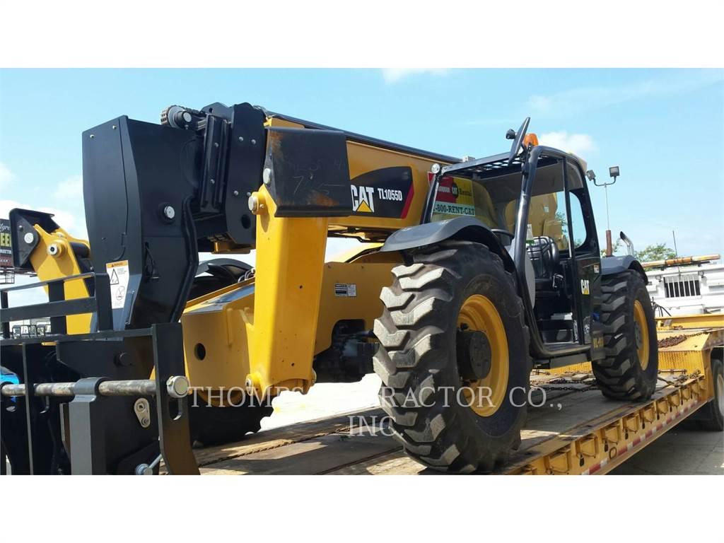 Caterpillar TL 1055 D, manipuladores telescópicos, Construcción
