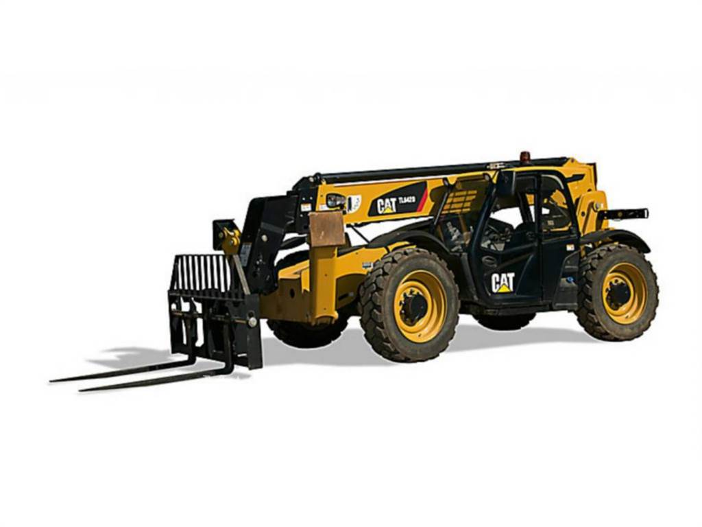 Caterpillar TL 642D, teleskopstapler, Bau-Und Bergbauausrüstung