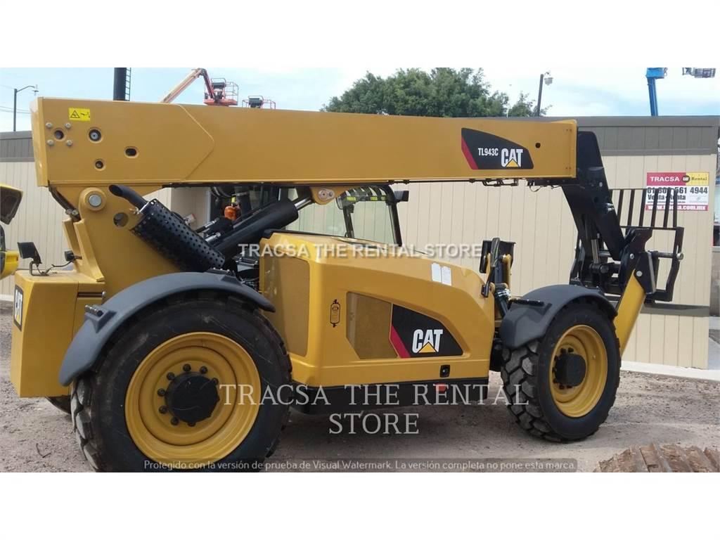 Caterpillar TL 943 C, chargeur à bras télescopique, Équipement De Construction