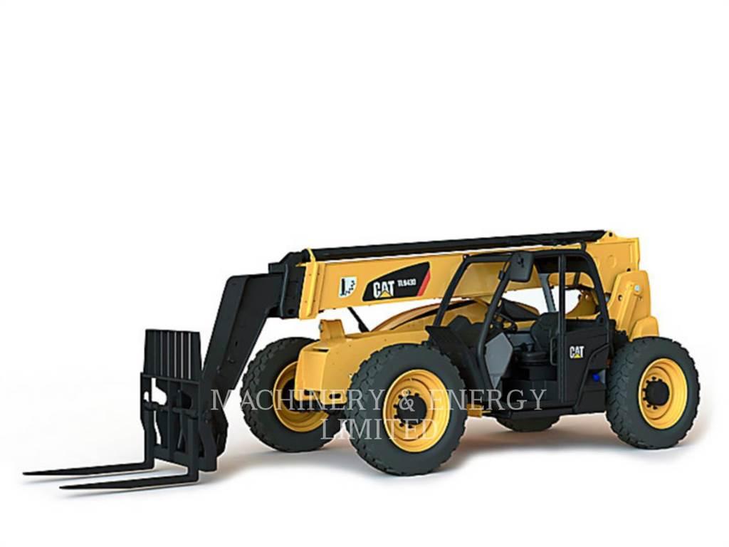 Caterpillar TL 943 D, manipulador telescópico, Equipamentos Construção
