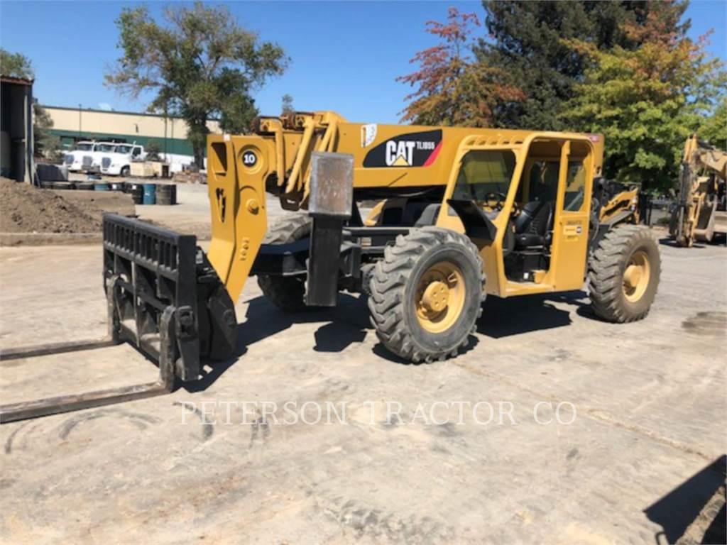 Caterpillar TL1055, chargeur à bras télescopique, Équipement De Construction
