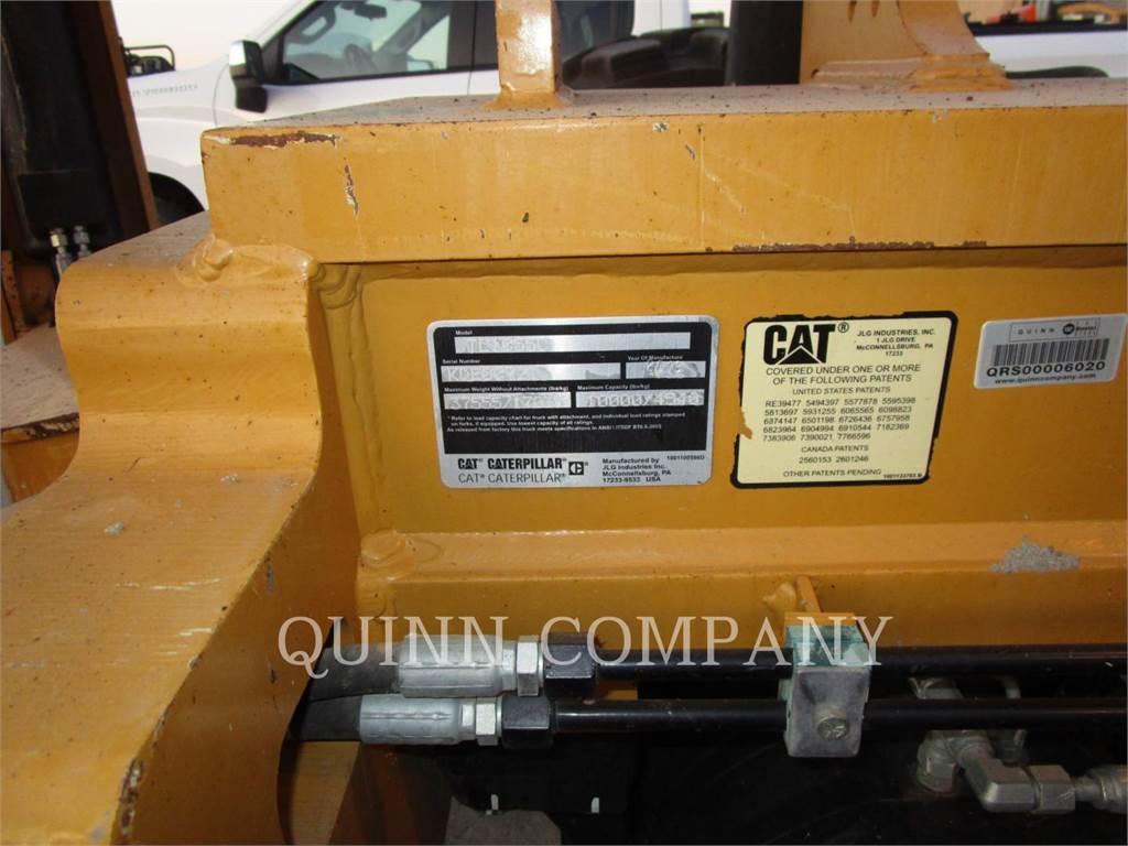 Caterpillar TL1055C, chargeur à bras télescopique, Équipement De Construction